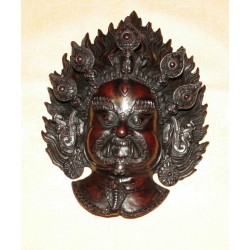 Bhairava Resin Mask From Nepal