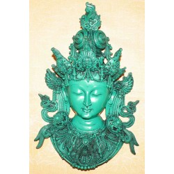 Tara Resin Mask From Nepal