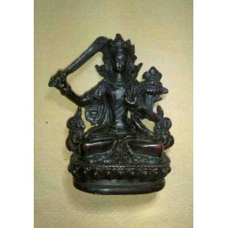 Manjushri Resin Statue From Nepal