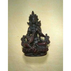 Saraswati Resin Statue From Nepal