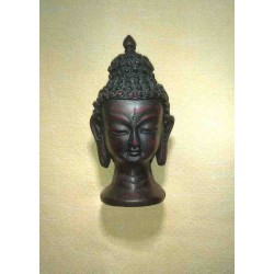 Buddha head Resin statue From Nepal