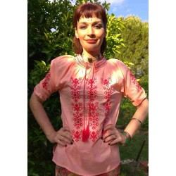 Top Embroidered from India