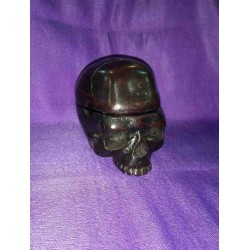 Skull Ashtray Resin statue From Nepal