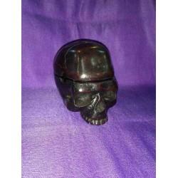 Skull Ashtray Resin statue From Nepal