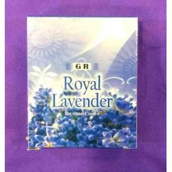 """Αρωματικοί κώνοι """"Royal Lavender"""" by GR"""