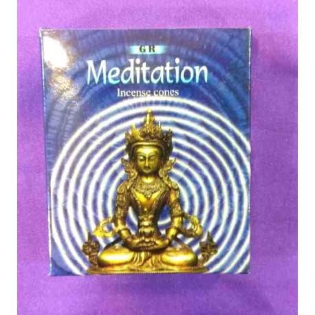 """Αρωματικοί κώνοι """"Meditation"""" by GR"""