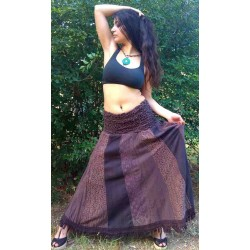 Boho Lace Long Skirt