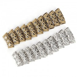 Dragon Dreadlock Cuffs Bead