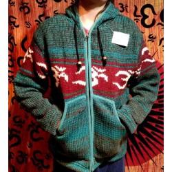 Μάλλινο Μπουφάν απο Νεπάλ Size M