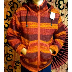Woolen Jacket from Nepal Size M
