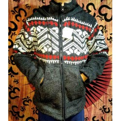 Woolen Jacket from Nepal Size L