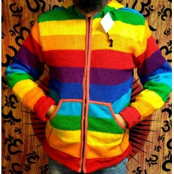 Woolen Jacket from Nepal Size XL