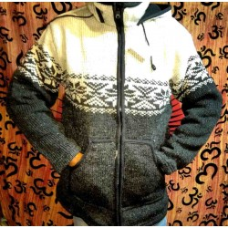 Woolen Jacket from Nepal Size XXL