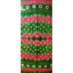 Bandhini TIe n Dye Cotton Scarf from Rajastan India