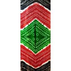Bandhini Tie n Dye Φουλάρι από Ινδία Ρατζαστάν