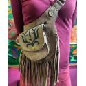 Δερμάτινη τσάντα απο Ινδία
