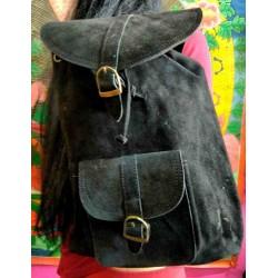 Δερμάτινη τσάντα σακκιδιο απο Ινδία