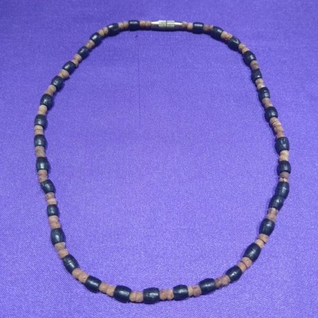 Wooden Necklace from Nepal