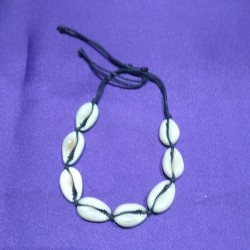 cowrie shell bracelet from Indonesia