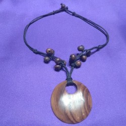 Wooden Necklace from Indonesia