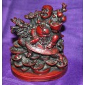 Laughing Buddha Resin statue From Nepal