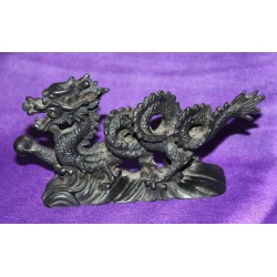 Small Dragon Resin statue From Nepal
