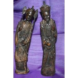 Royal Couple Resin statue From Nepal