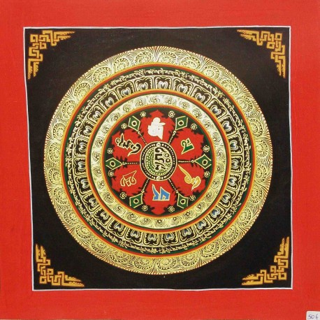Small Mandala Thangka