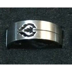 Stainless steel Rings Size 21