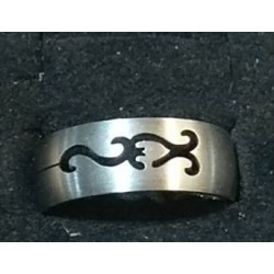 Stainless steel Rings Size 23