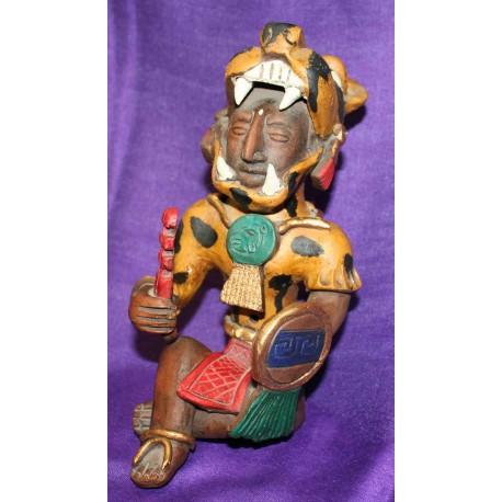 Αζτέκος πολεμιστής κεραμικό από Μεξικό