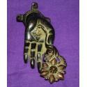 Bronze Godess door handle statue From Nepal