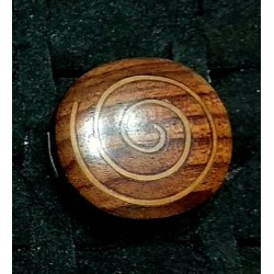 Wooden rings spiral