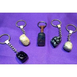 Keyholder with semiprecius stones