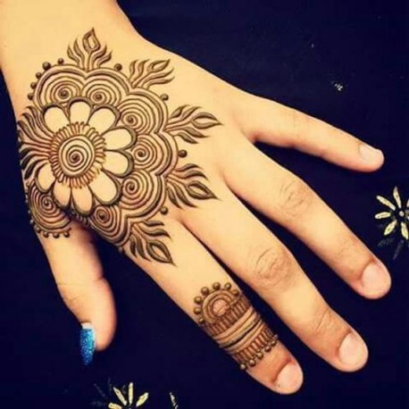 Henna Natural Brown-red from India