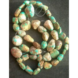 Turquoise Beads strand 54cm from India