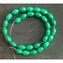Malachite Beads strand 38cm from India