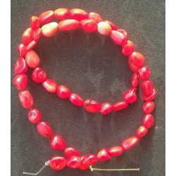 Coral Beads strand 41cm from India